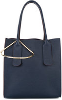 Roksanda tote bag with gold tone detail - women - Leather - One Size