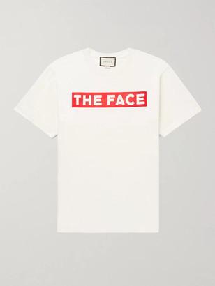 Gucci Oversized Printed Cotton-Jersey T-Shirt