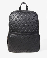 Forever 21 Quilted Faux Leather Backpack