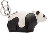 Loewe Black and White Panda Keychain