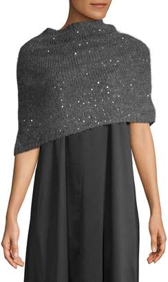 Eileen Fisher Sequined Wrap Scarf