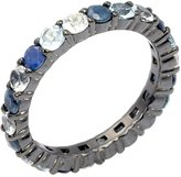 MCL by Matthew Campbell Laurenza Large Sapphire Stackable Ring, Size 7