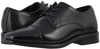 Florsheim Kids Postino Cap Toe Ox, Jr. (Toddler/Little Kid/Big Kid) (Black) Boy's Shoes
