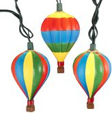 Kurt Adler 10-Light Hot Air Balloon String Lights