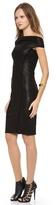 Donna Karan Cap Sleeve Dress