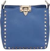 Valentino Garavani Rockstud Mini Vitello Stampa Leather Hobo Bag
