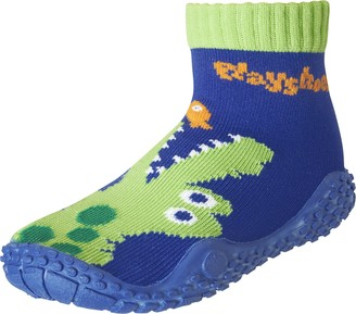 Playshoes Unisex Kid's Aqua Socks with UV Protection Crocodile Water Shoes