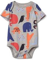 Gap Print short sleeve bodysuit