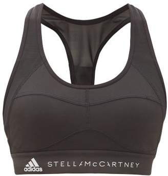 adidas by Stella McCartney Essentials Racer-back Sports Bra - Womens - Black