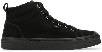 Cariuma OCA high suede all black sneakers