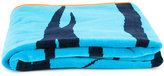 Kenzo tiger print towel - kids - Cotton - One Size