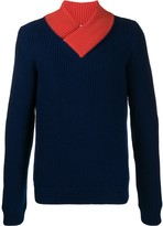 Namacheko colour-block ribbed jumper