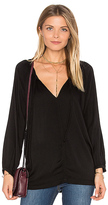 Velvet by Graham & Spencer Pazia Blouse in Black
