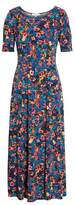 Chaus Floral Field Maxi Dress