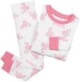 Burt Toddler Girls' Bee Print Organic Cotton Pajama Set - Pink - Burt's Bees Baby