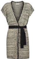 Brunello Cucinelli Sequin-Embellished Hemp, Linen And Silk-Blend Cardigan