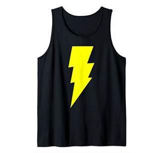 Funny Nerdy Sheldon Nerdy Comic Hero Big Lightning Bolt Gift Tank Top