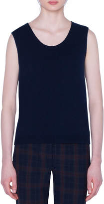 Akris Cashmere Scoop-Neck Shell Sweater