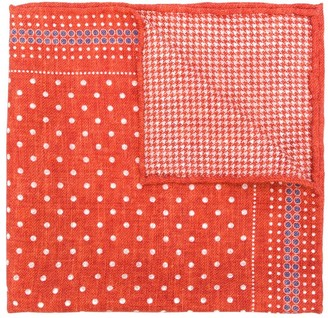 Brunello Cucinelli Polka Dot Pocket Square