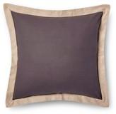 Mudhut Pillow Sham (Euro) Grey