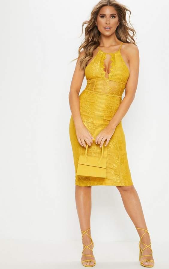 4cbaf4083b5a PrettyLittleThing Lace Midi Dresses - ShopStyle UK