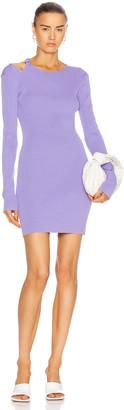 Helmut Lang Ring Dress in Voltaic Purple | FWRD