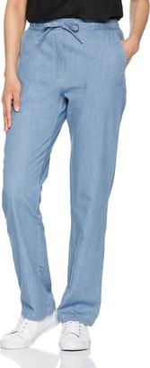 Damart Women's Pantalon Fluide Pur Coton Trouser
