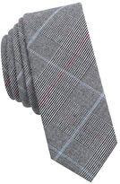 Original Penguin Houndstooth-Patterned Cotton Tie