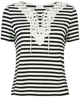 Claudie Pierlot Tamise Striped Top