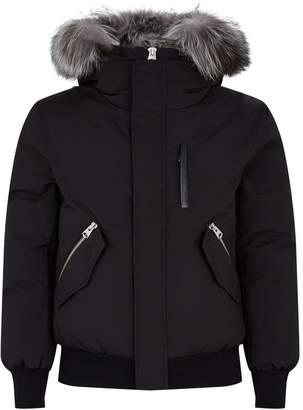 Mackage Fox Fur-Trim Padded Jacket