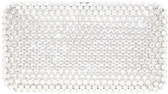 Judith Leiber Large Crystals Clutch Bag