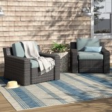 Beachcrest Home Linwood Deep Seating Patio Chair with Cushions