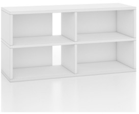 Way Basics 4-Cubby Tv Stand