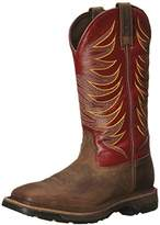 Ariat Men's Workhog Wide Square Toe Tall II Soft Toe Distressed Boot