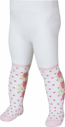 Playshoes Girl's Strumpfhose Rosen Tights