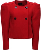 Thumbnail for your product : Isabel Marant Fileali Wool Blend Short Coat