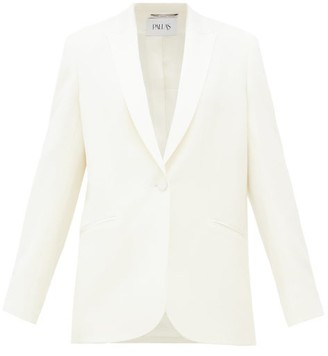 Pallas Paris Facette Single-breasted Cady Jacket - White
