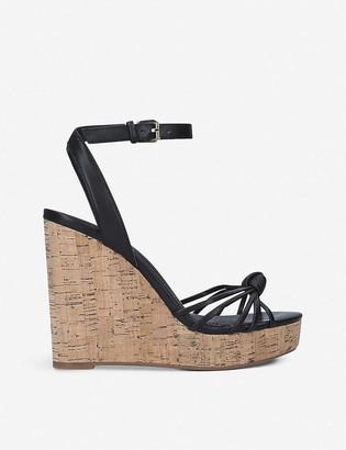 Aldo Kaoedia faux-leather wedge sandals