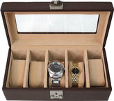 Royce Leather Deluxe 5 Watch Box 929-5