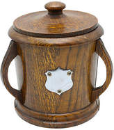One Kings Lane Vintage English Oak Art Nouveau Ice Bucket