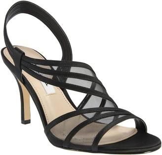 Nina Asymetrical Strap Sandals - Vitalia