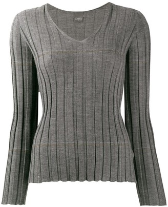 Lorena Antoniazzi v-neck cashmere sweater