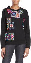 Maurizio Pecoraro Embroidered Patch Sweatshirt