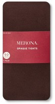 Merona Women's Plus-Size Tights 50 Denier Opaque Mesquite BBQ 2X