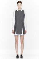 J.W.Anderson Grey Paneled Dress