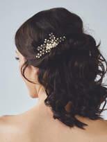 Etsy Pearl Hair Comb | Gold Bridal Headpiece | Wedding Hair Piece | Pearl Hair Vine | Wedding Hair Access