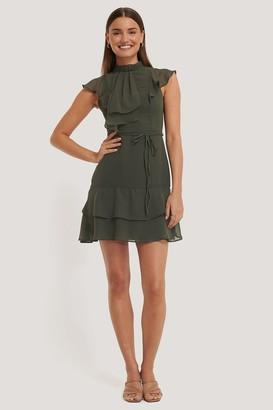 Trendyol Belt Detail Midi Dress