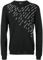 Fendi embroidered pullover
