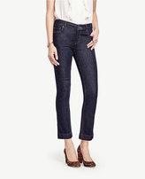 Ann Taylor Petite Kick Crop Jeans