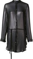 Ann Demeulemeester oversized shirt - women - Rayon - 38